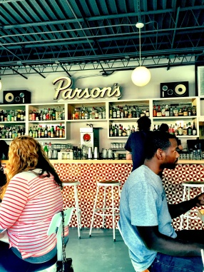 Parson's is the SHIT. Patio drinking will happen this summer.